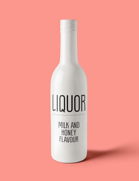 Font Liquor Joscha Borgers